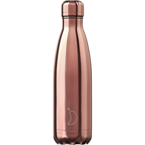 Chilly's 500ml Chrome Rose Gold