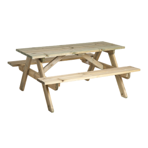 Alexander Rose Woburn Pine Picnic Bench