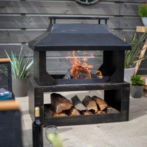 Stonehurst Outdoor Fireplace
