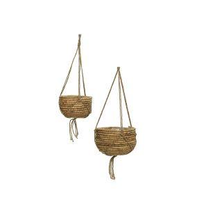 Natural Hyacinth Hanging Basket