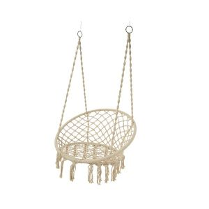 Cream Hammock Chair