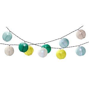 Solar String Lights - Green