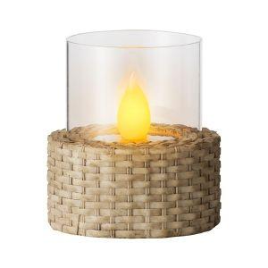 Light Woven Base Table Light