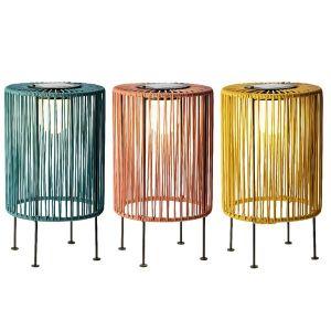 String Solar Table Lamp - Blue