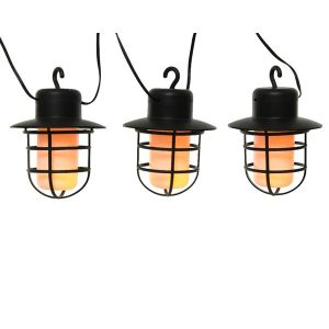 Solar Fire Flame Effect String Lights