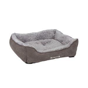Scruffs® M Cosy Soft-Walled Grey Dog Bed