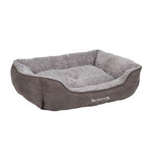 Scruffs® XL Cosy Soft-Walled Grey Dog Bed