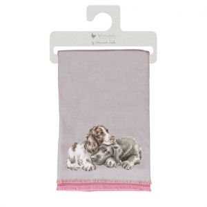 Wrendale 'A Dog's Life' Winter Scarf