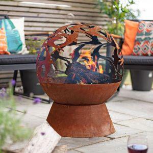 Swallow Fire Globe