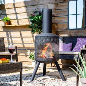 Santana Perforated Fireplace