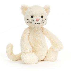 Jellycat Bashful Cream Kitten