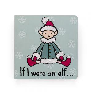 Jellycat 'If I Were An Elf' Book