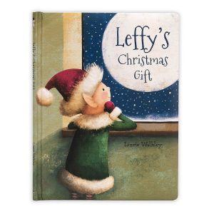 Jellycat 'Leffy's Christmas Gift' Book