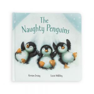 Jellycat 'The Naughty Penguins' Book