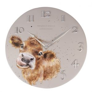 Wrendale 'Moooo' Cow Wall Clock