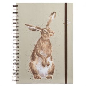 Wrendale 'The Hare and the Bee' A4 Notebook