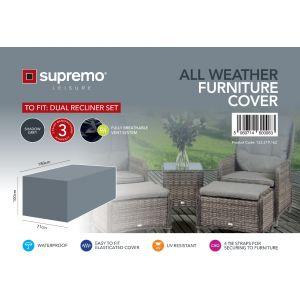 Dual Recliner Set Furniture Cover
