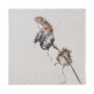 Wrendale 'Country Mice' Napkins