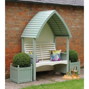 Sage & Cream Cottage Arbour