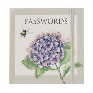 Wrendale 'Hydrangea' Password Book