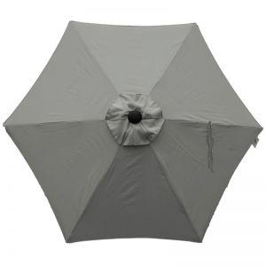 Riviera 2.5m Parasol - Grey