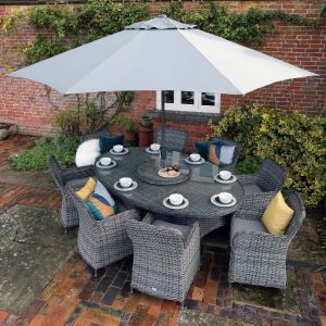 Supremo Rydal Eight Seat Dining Set