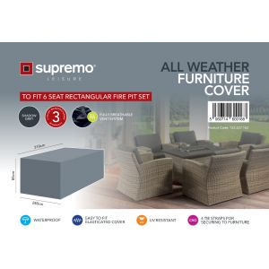 Fire Pit Set Furniture Cover