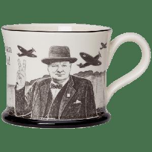 Winston Churchill Never Surrender Mug
