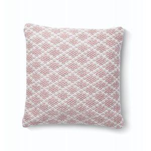 Rose Woven Trellis Cushion