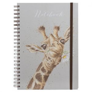 Wrendale 'Flowers' A4 Notebook