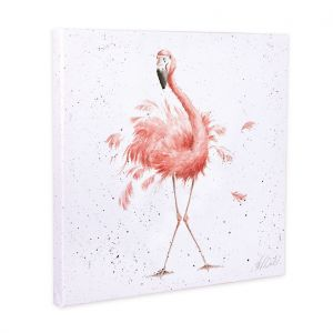Wrendale 'Pretty in Pink' Canvas